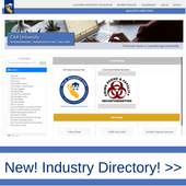 Ad for CAA Industry Directory