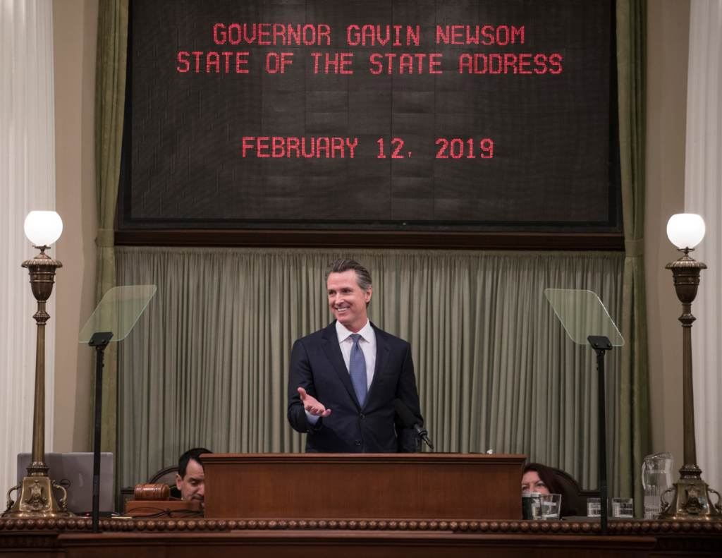 Gov. Newsom calls for rent-stabilizing legislation during first state of state address